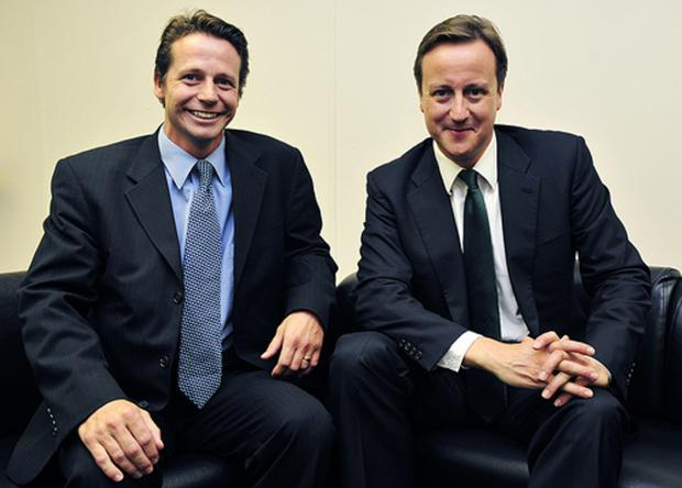 Droitwich Advertiser: Nigel Huddleston with Prime Minister David Cameron