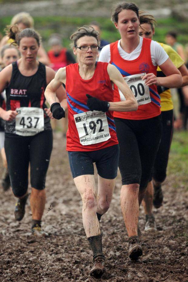 Droitwich Advertiser: Going the distance: Bromsgrove and Redditch AC's Charlotte Ball in action at the County Championships in Halesowen at the weekend. Picture: EMMA TRIMBLE