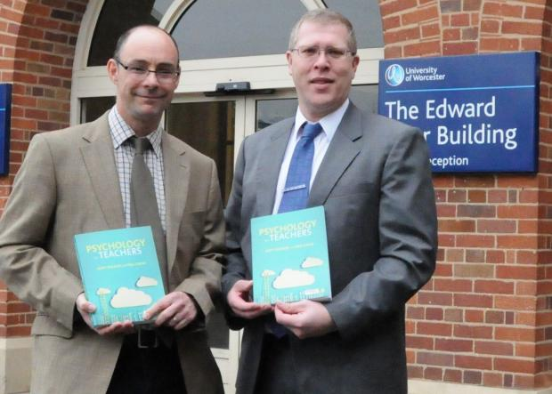 Dr Scott Buckler, Senior Lecturer in the Institute of Education, and Dr Paul Castle, Senior Lecturer in the Institute of Sport and Exercise Science, have spent three years working on the book.