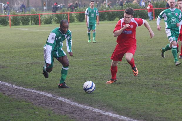 Sean Williams in action for Bromsgrove. Picture: DAVID BESLEY