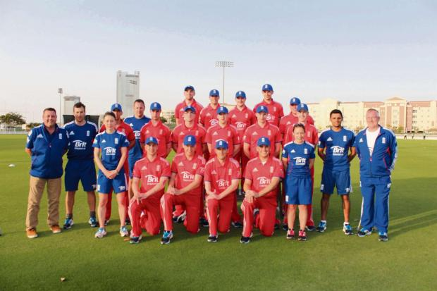 England's Physical Disability squad