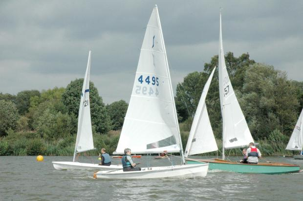Have a go at sailing for free. Image courtesy of Upton Warren SC. SP