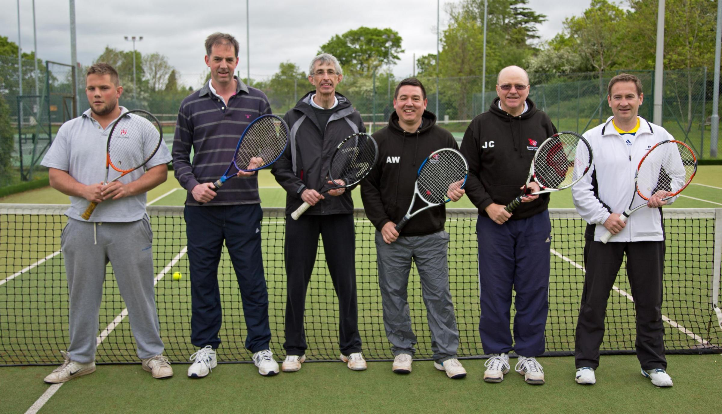 Court queens: Bromsgrove Ladies C team of Sue Murray, Ros Cooke, Lesley Hodson, Anne Simper, Lisa Rushton and