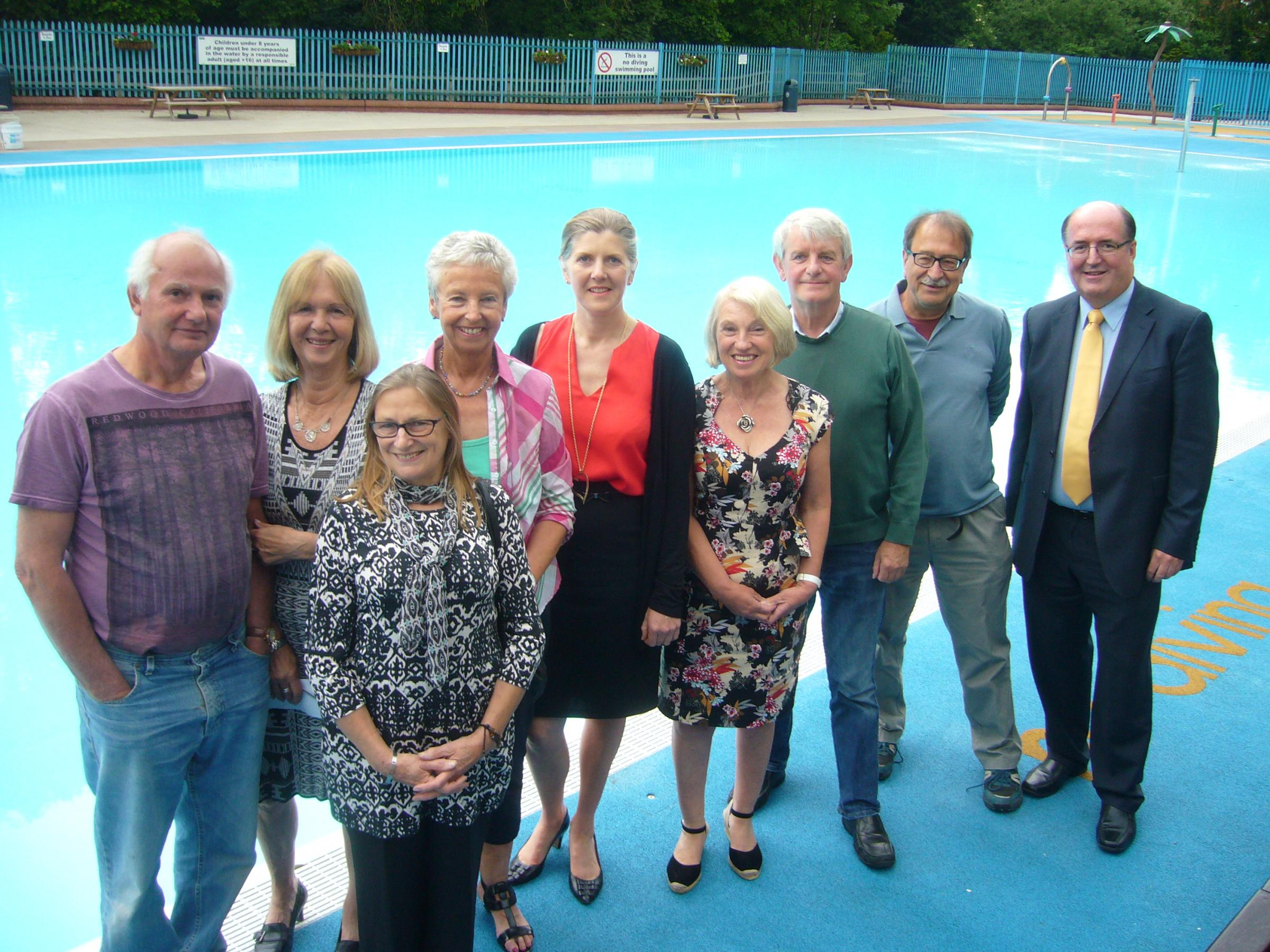 FREE TICKETS: Friends of Droitwich Spa Lido are offering free swimming tickets. SP