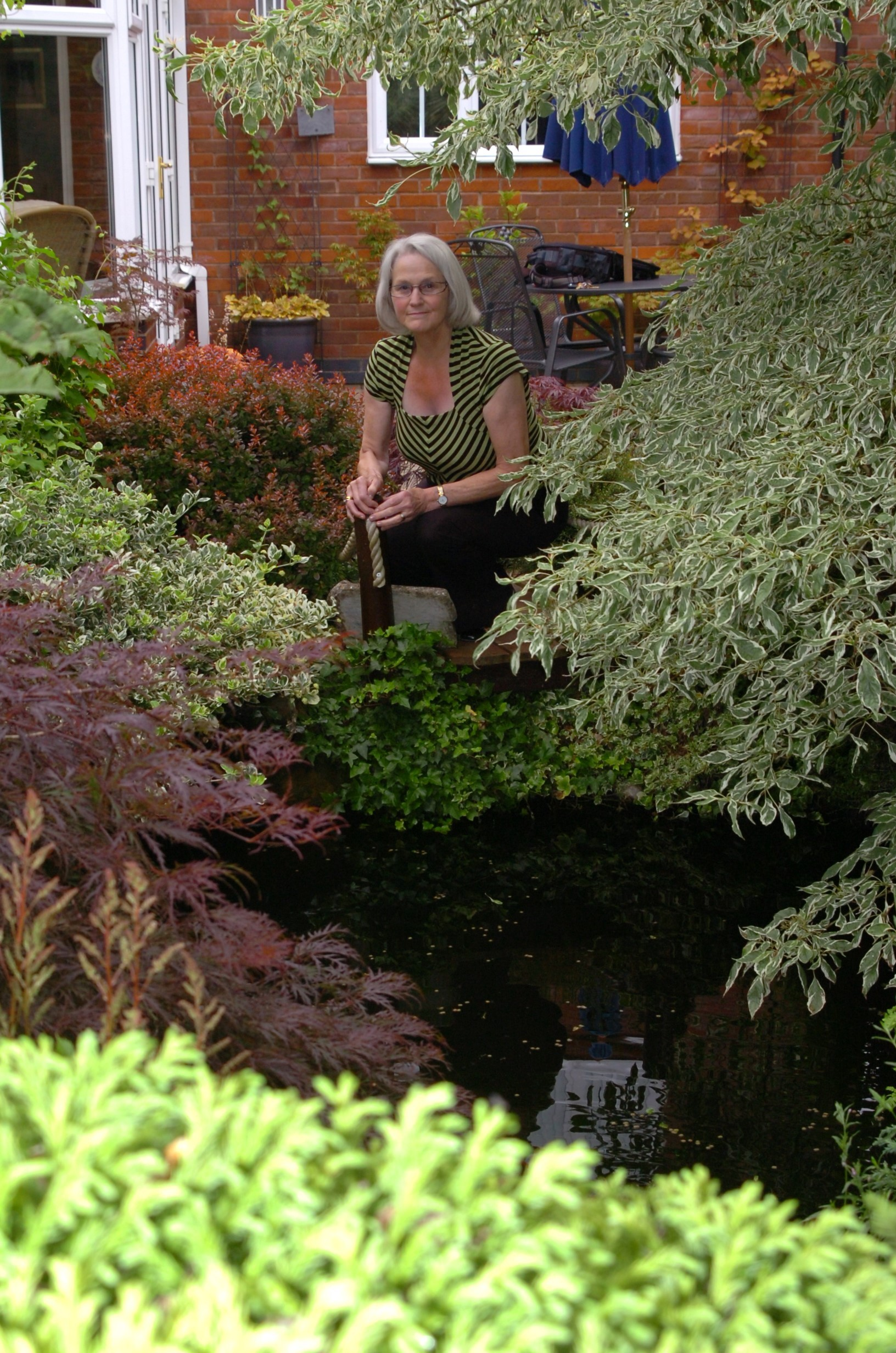 Droitwich couple open garden in memory of their son