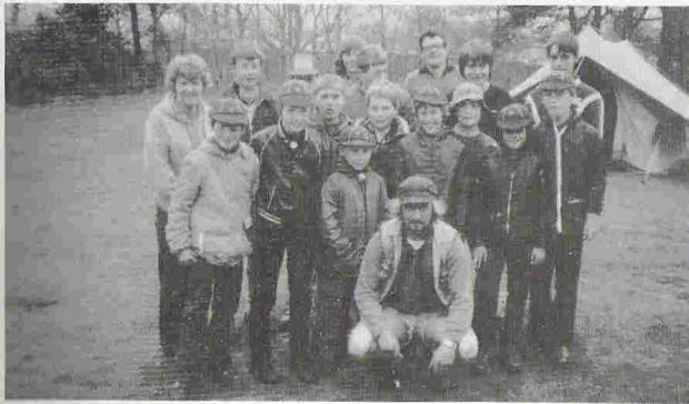 Droitwich Advertiser: SCOUTING FOR BOYS: 6th Kidderminster Scout Group on a Whitsun camp at Rhydd Covert in 1983.