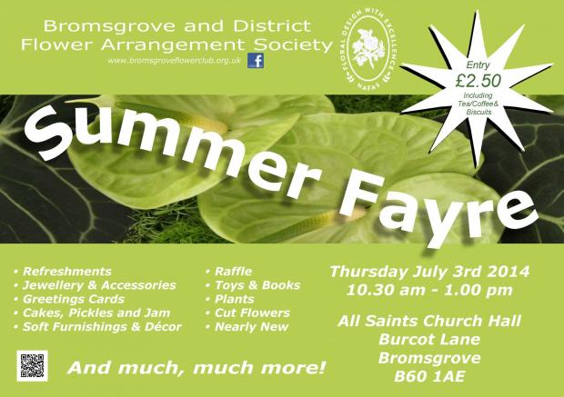 Blooming lovely summer fayre