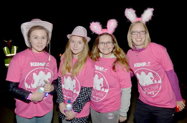 Midnight walk boosts hospice