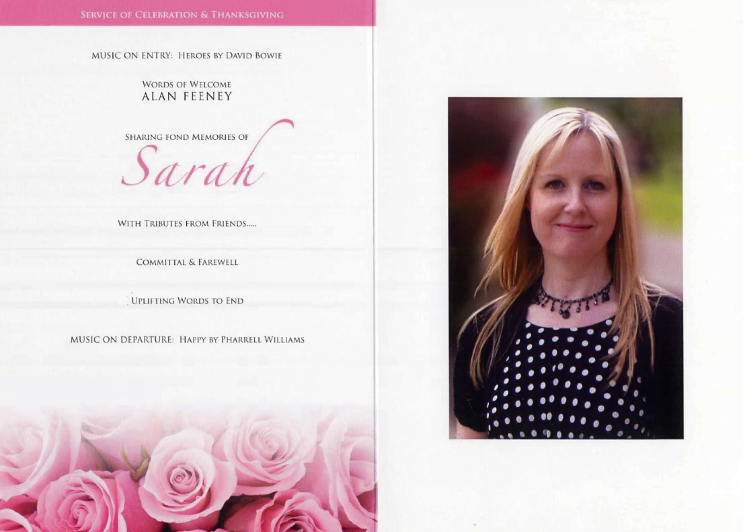 Pink funeral raises money for charity