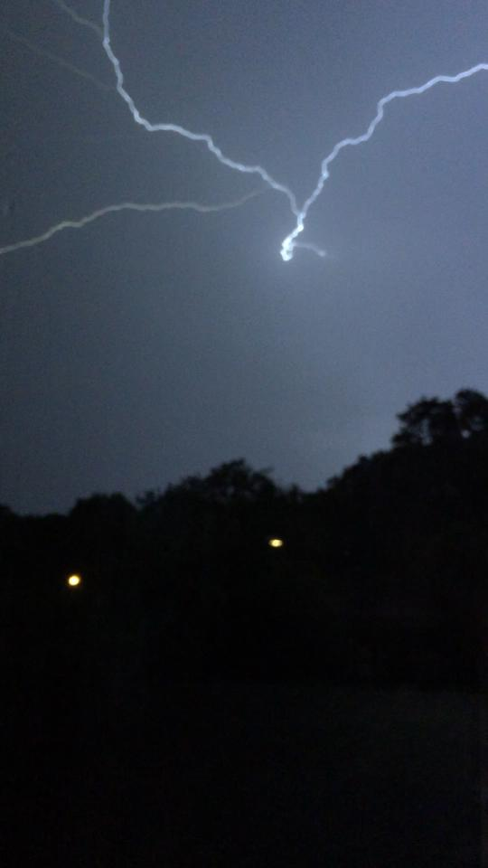 Droitwich Advertiser: Lightning by Luke Boulter