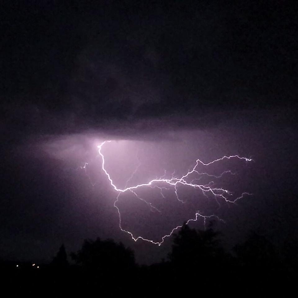 Droitwich Advertiser: Lightning by Bethany Hughes