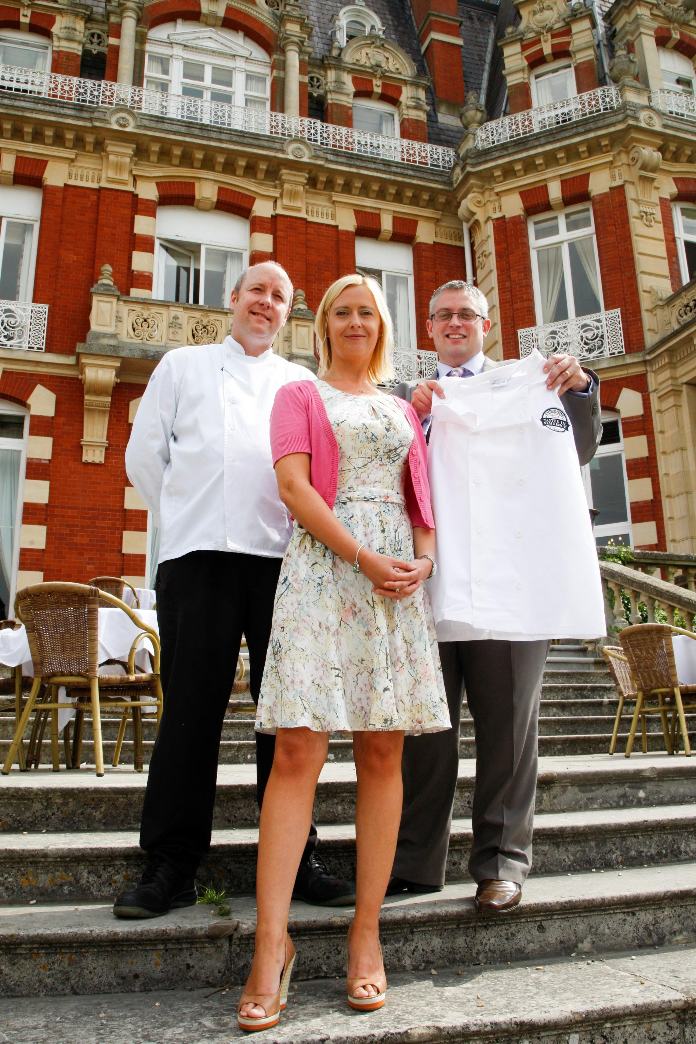 Chateau Impney gets UKs first taster in residence