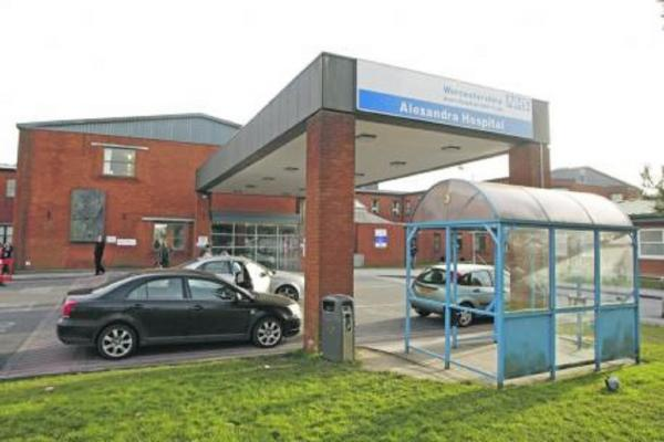 The amount of people waiting more than four hours for treatment at an Accident and Emergency department in Worcestershire, i