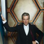 Droitwich Advertiser: Peter Capaldi didn't feel he needed teaching how to work the Tardis