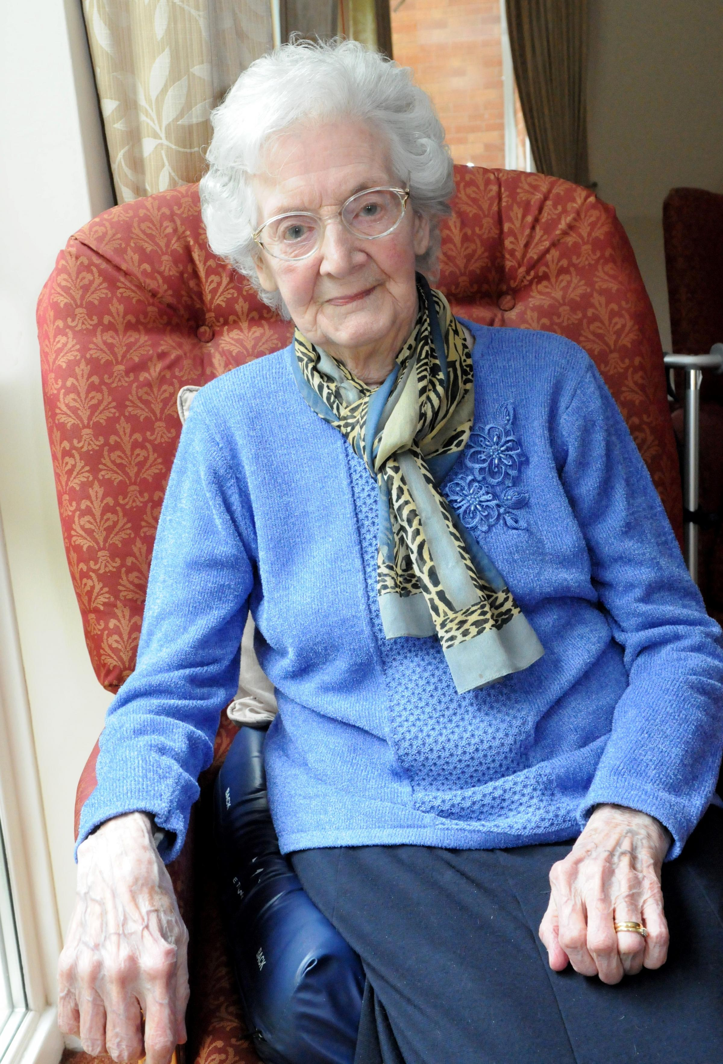 Happy 100th for Elsie