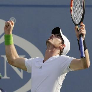 Andy Murray, pictured, is happy with his form ahead of a US Open quarter-final against Novak Djokovic (AP)