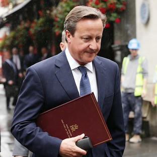 Prime Minister David Cameron has condemned a video apparently showing a US journalist being beheaded