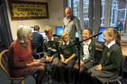 INTERVIEW: Jan Jays of The Witleys Oral History Group being interviewed by Harvey Eggleton, Sam Bowater, Maya Turnor and Harriet Lowe of Great Witley School              Jan Jays of