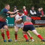 Droitwich Advertiser: RCR431407_01  Action shots from Bromsgrove RFC v Lichfield  (11663097)