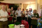 The choir from Claines Church visited The New Inn and the Mug House to spread a bit of Christmas joy (s)