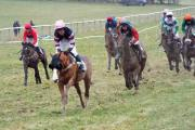 Action from the Albrighton and Woodland point to point.