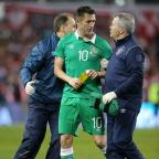 Droitwich Advertiser: Robbie Keane felt Sunday's 1-1 draw with Poland was a point gained