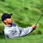 Droitwich Advertiser: Tiger Woods shot a 66 on the first day of The Greenbrier Classic