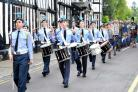John Anyon       13/9/14       3714698301  Droitwch Salt Festival 2014.................The Procession is led by Droitwich Air Training Corps Cadets  (10318126)