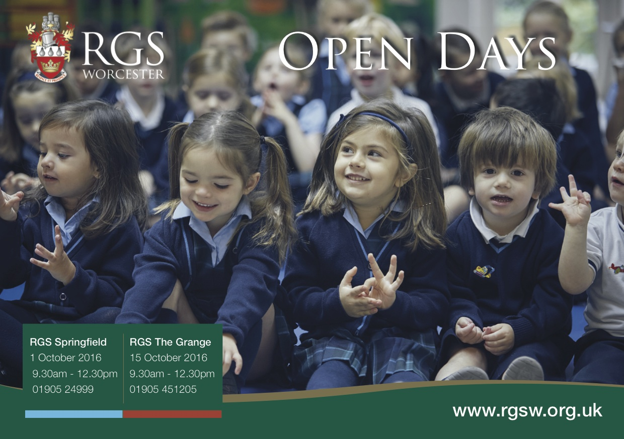 RGS Springfield Open Day