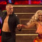 Droitwich Advertiser: He puts the boy in flamboyant! Viewers could not get over Judge Rinder's energetic first Strictly dance