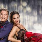 Droitwich Advertiser: Yvette Cooper sent Ed Balls a good luck message from the Labour conference before his first dance on Strictly