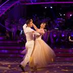 Droitwich Advertiser: Daisy Lowe flies to top of the Strictly leaderboard after week one