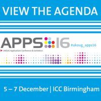 UKOUG Applications Conference & Exhibition 2016