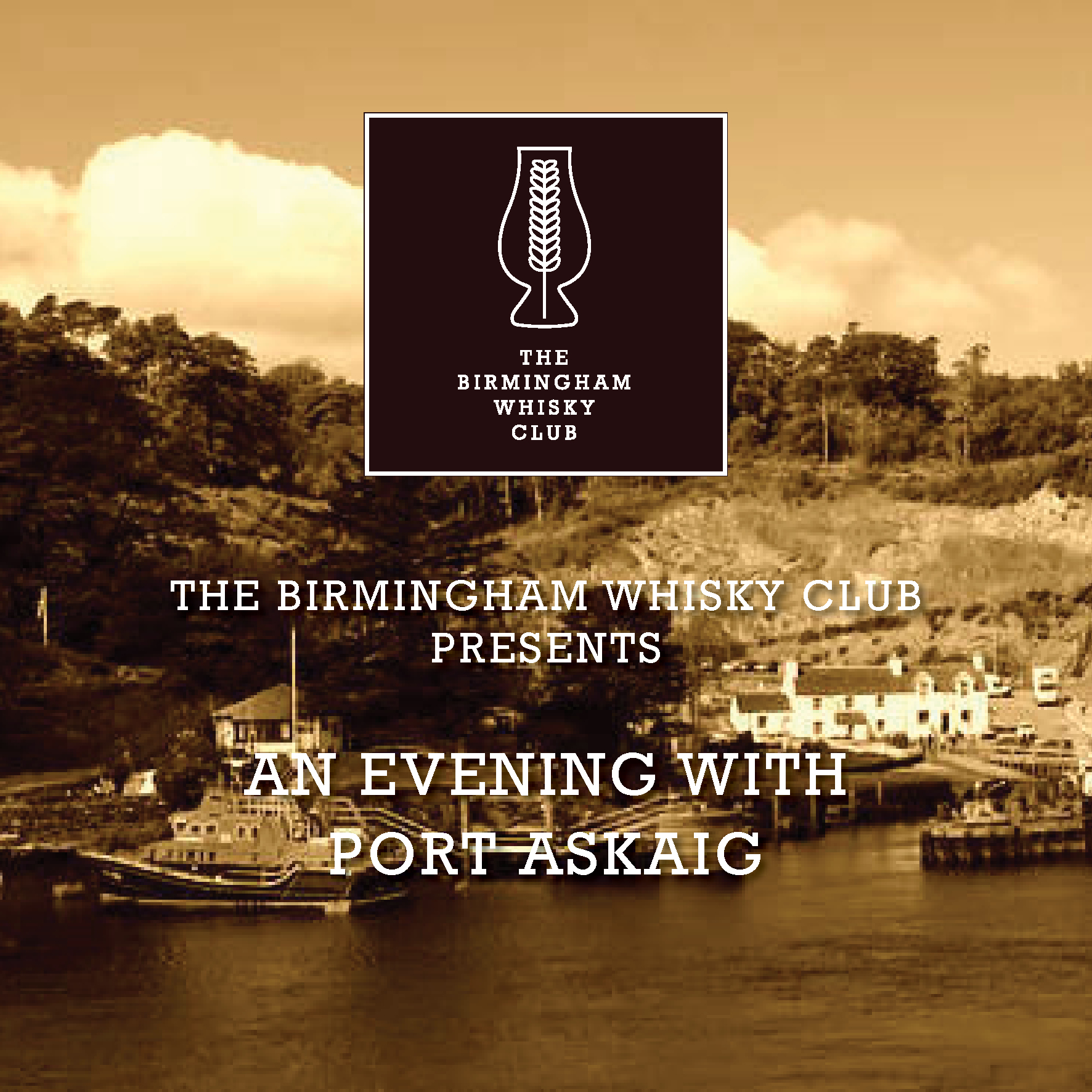 The Birmingham Whisky Club Presents :: An Evening With Port Askaig