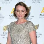 Droitwich Advertiser: Keeley Hawes blames flat screen TVs for mumblegate