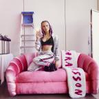 Droitwich Advertiser: Pop star Zara Larsson launches 'fierce and feminine' fashion range for H&M