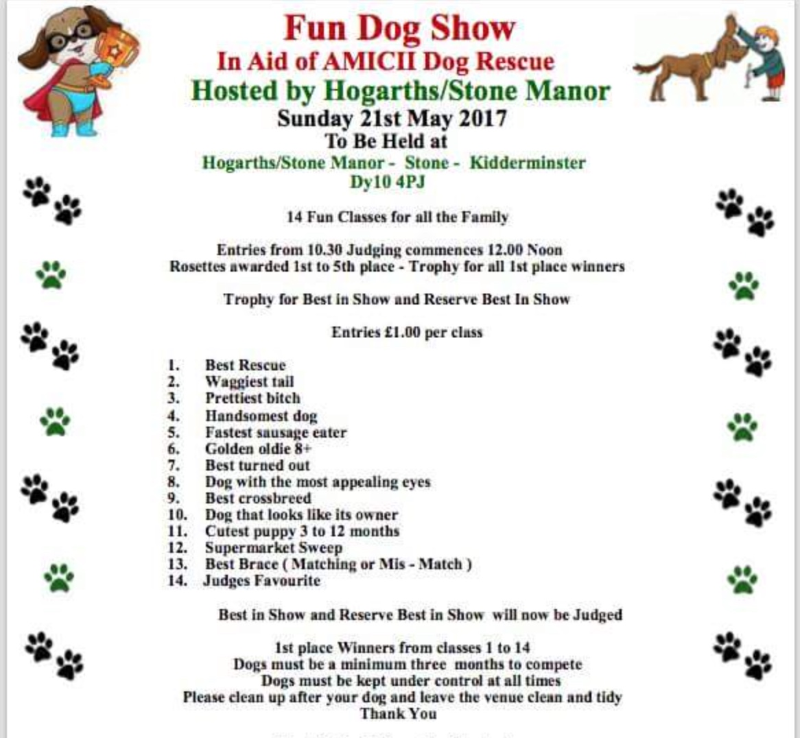 Kidderminster Fun Dog Show