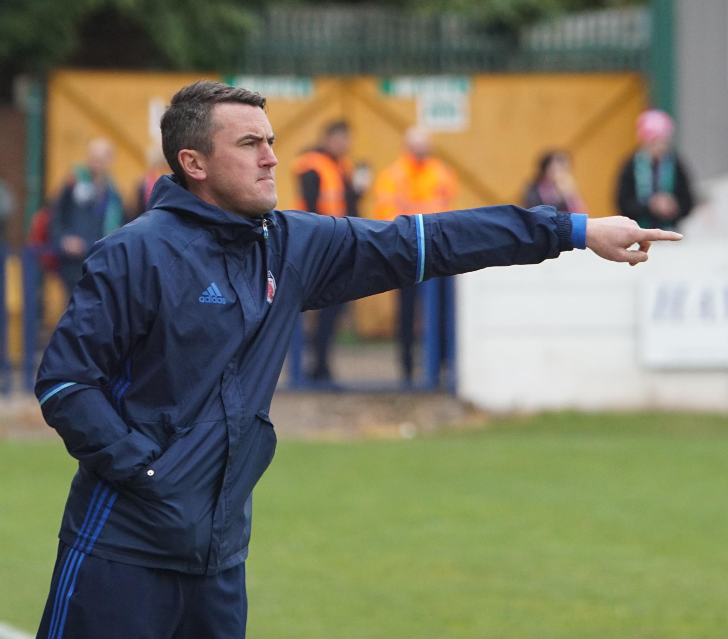 Former Bromsgrove Sporting manager Paul Smith. Pic by Dave Kettle