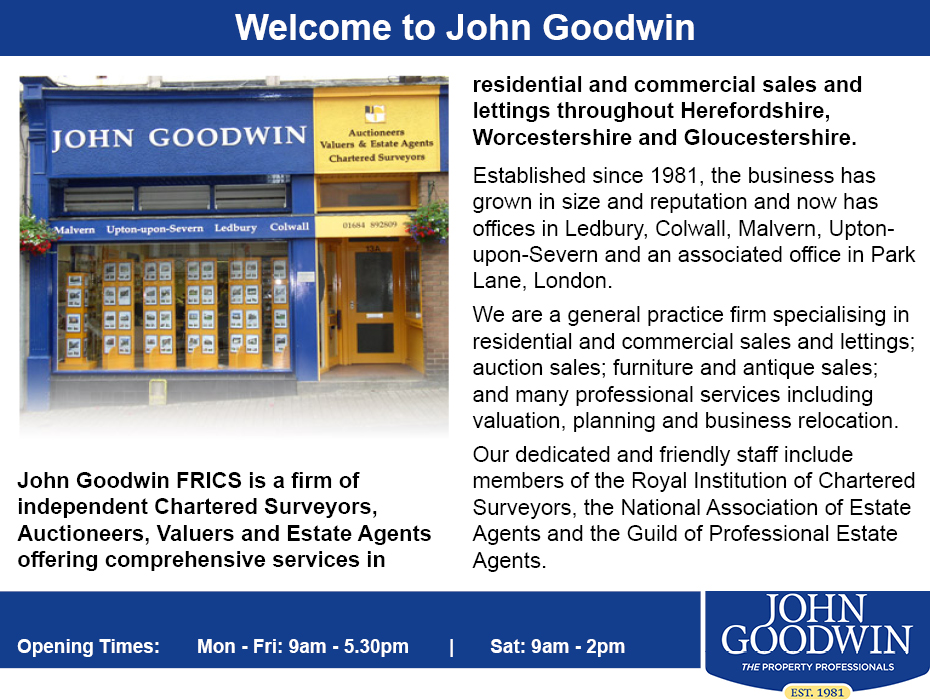Droitwich Advertiser: John Goodwin Profile