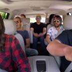 Droitwich Advertiser: Foo Fighters rock out with James Corden in Carpool Karaoke (The Late Late Show with James Corden YouTube)