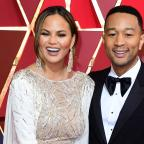 Droitwich Advertiser: Chrissy Teigen traded John Legend's pants with fans for brown bananas (Ian West/PA)