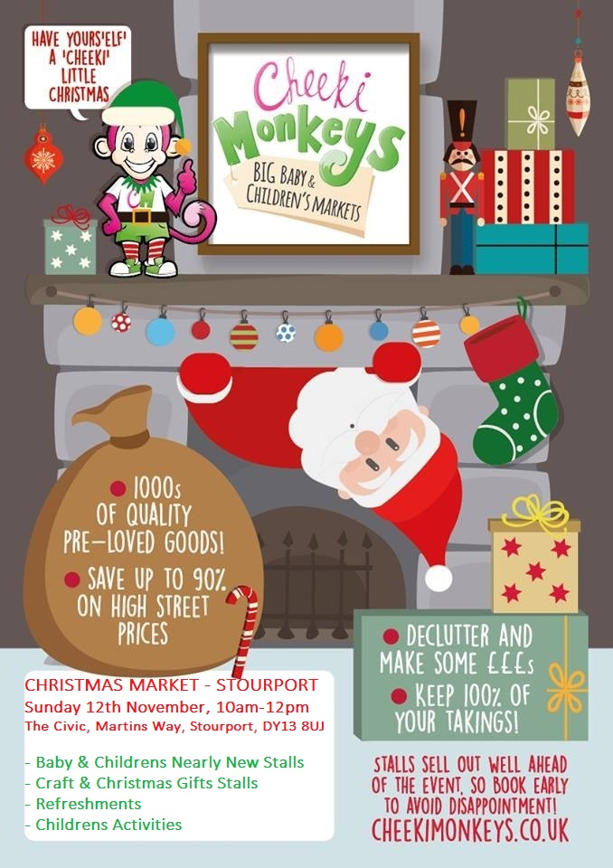 Christmas Market - Nearly New Baby & Childrens Items, Crafts & Gifts