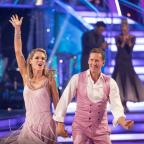 Droitwich Advertiser: Charlotte Hawkins and Brendan Cole are out of Strictly (Guy Levy/BBC)