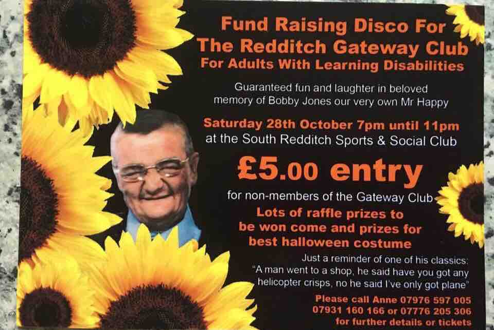 Fundraising event in memory of much-loved Bobby