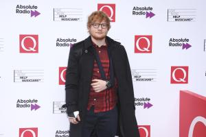 Singer Ed Sheeran poses for photographers upon arrival at the Q Awards in London, Wednesday, Oct. 18, 2017. (Photo by Joel Ryan/Invision/AP)
