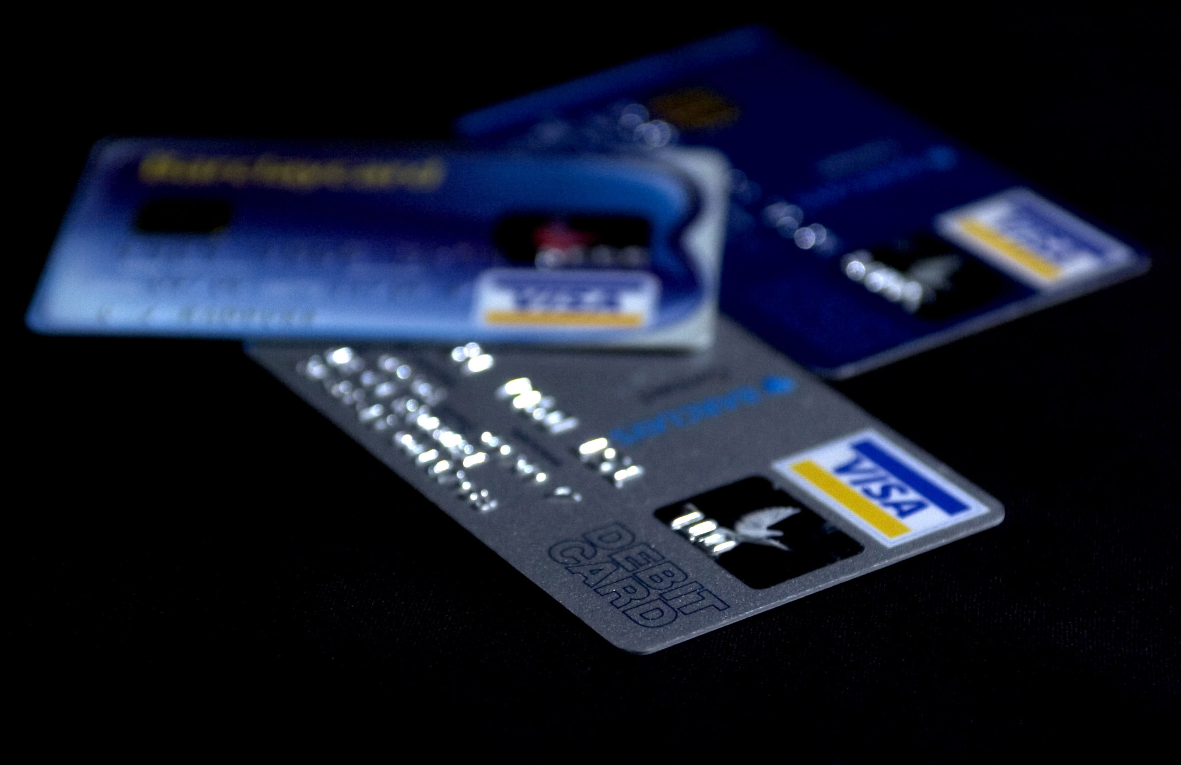 Debit cards. Picture: Chris Radburn/PA Wire