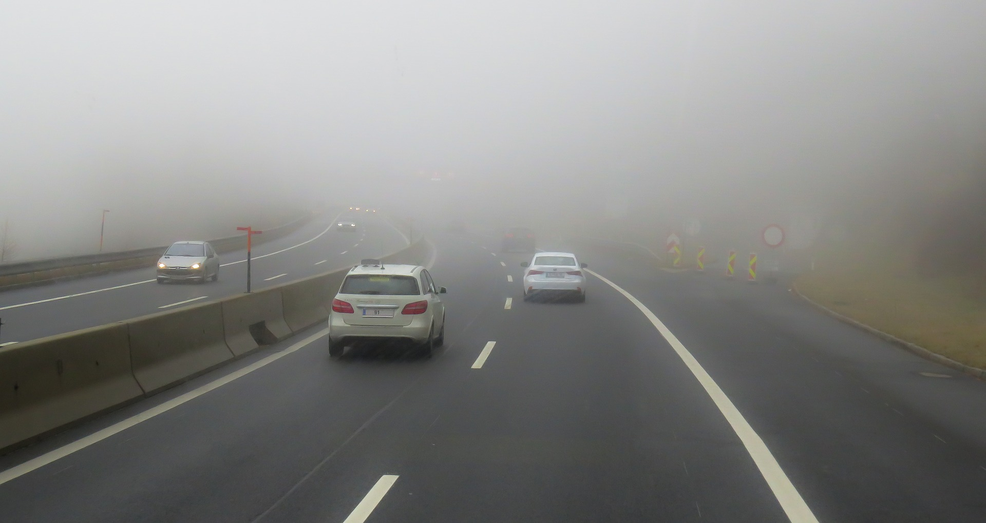 Drivers need to be aware of heavy fog across the region this morning (Pixabay)