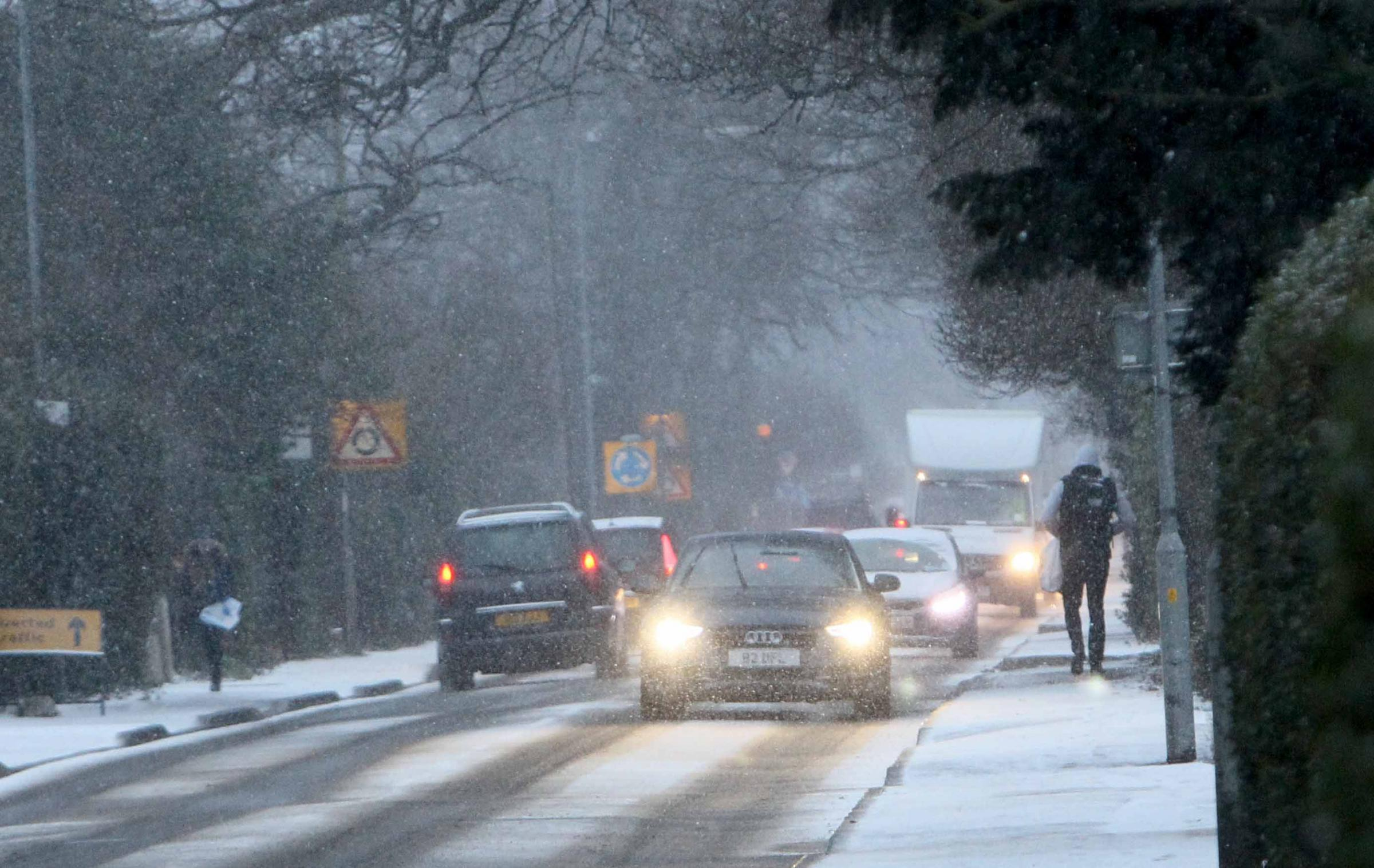 Weather: Sleet and snow prompts weather warning