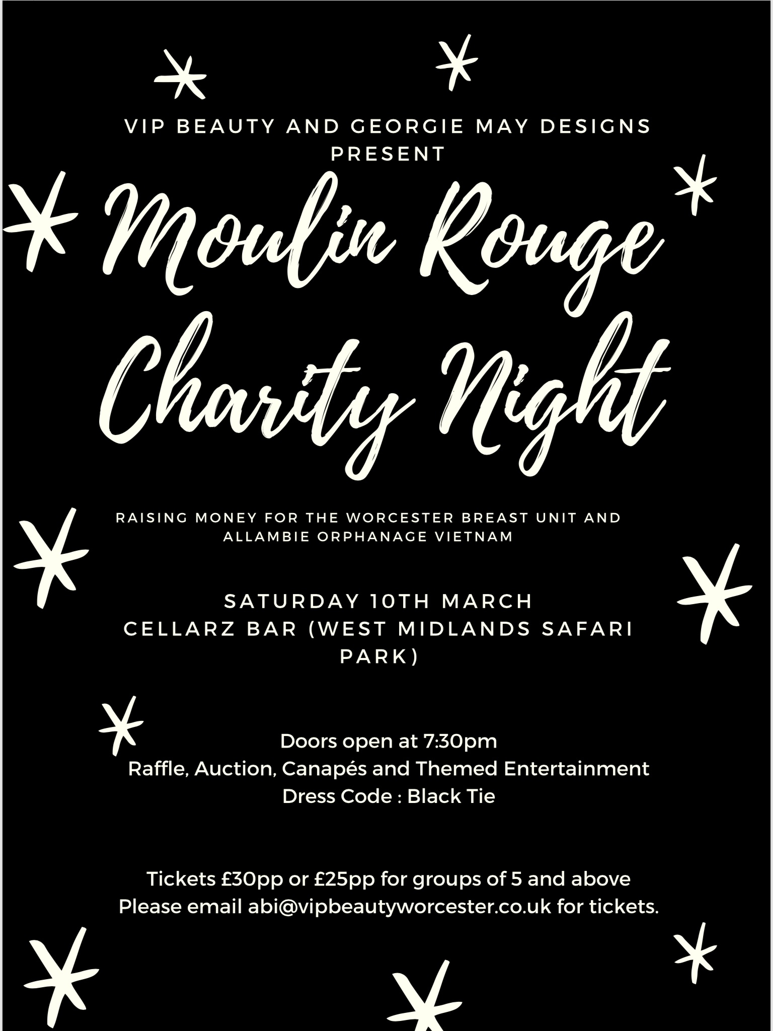 Moulin Rouge Charity Night