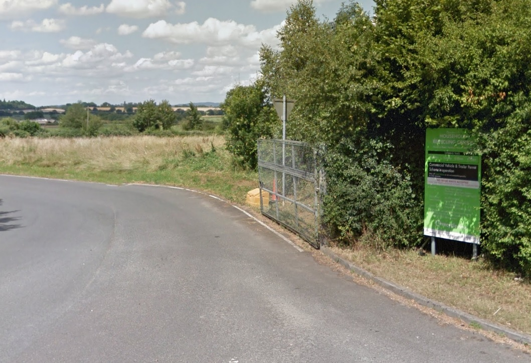 SCENE: Droitwich Household Waste and Recycling Site. Picture: Googlemaps